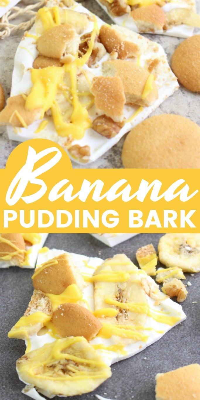 Banana Pudding Bark is a fun take on a classic dessert. It makes a wonderful gift at Christmastime!