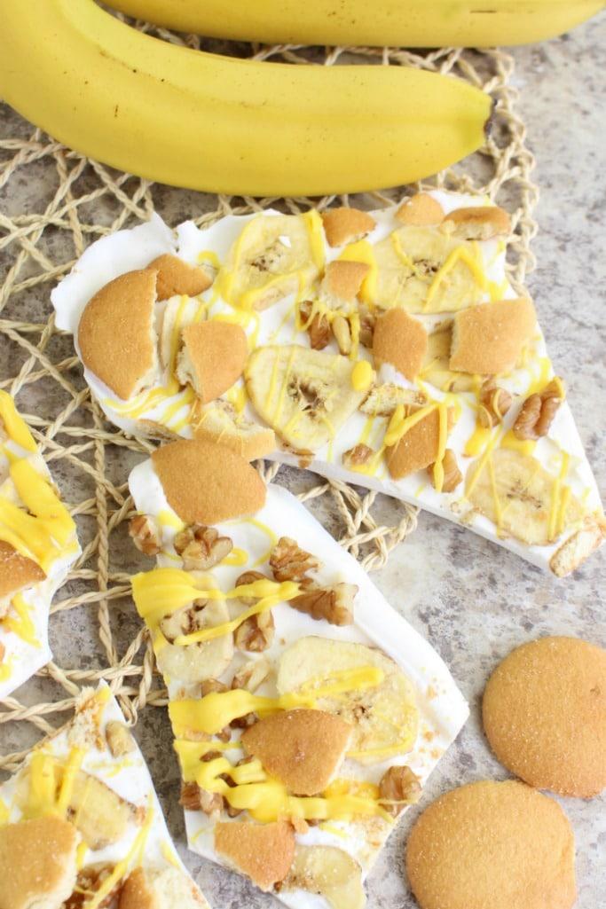 Banana Pudding Bark makes a great food gift