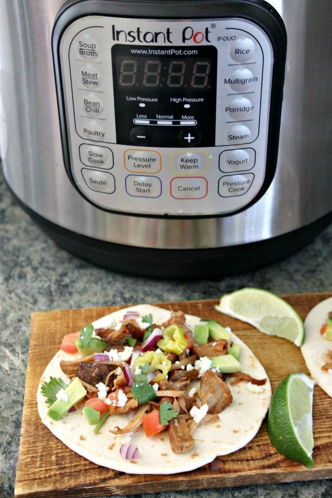 Delicious Instant Pot Pork Tacos