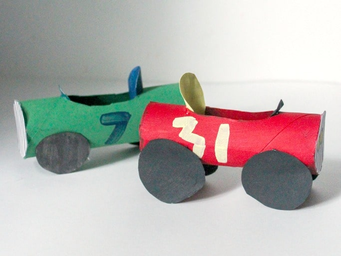 Toilet Roll Car Kids Craft