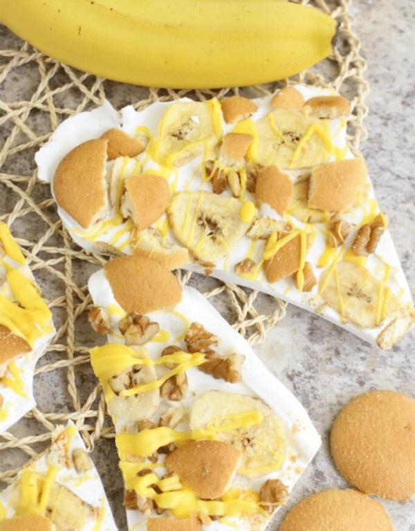 banana pudding bark
