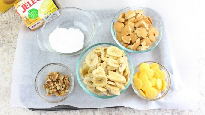 banana pudding bark ingredients