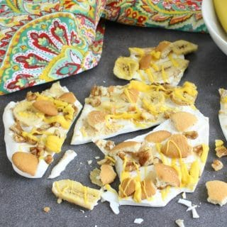 Banana Pudding Bark Candy Dessert