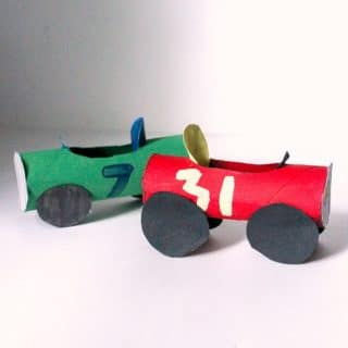 Toilet Roll Car Craft for Kids
