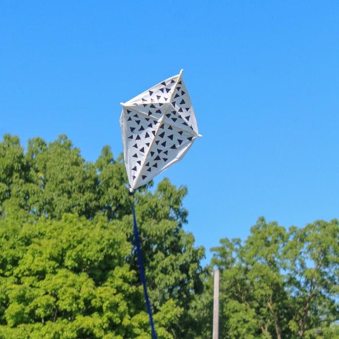 Plastic Bag DIY Kite Craft for Kids