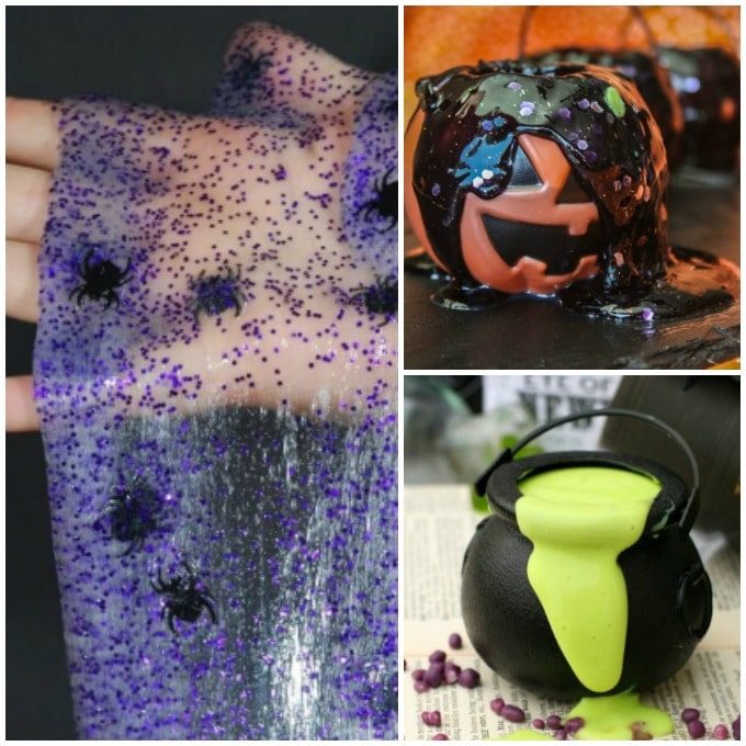 halloween slime recipes feature