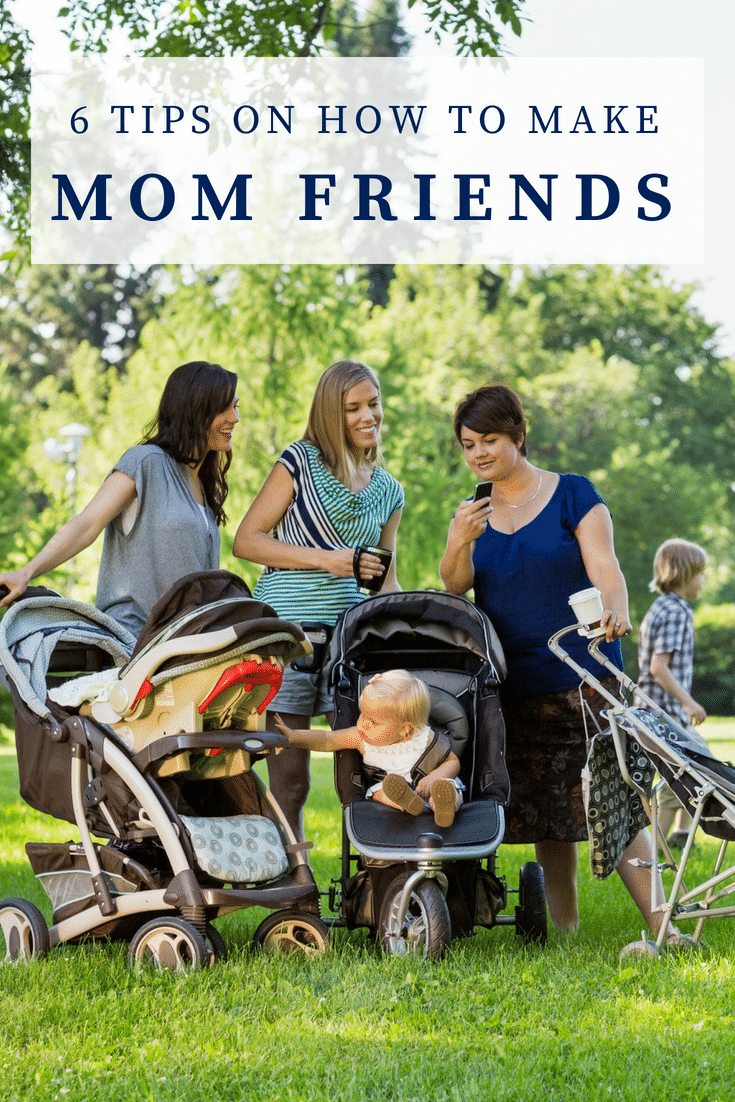 How to Make Mom Friends - Tips from a Shy Mom