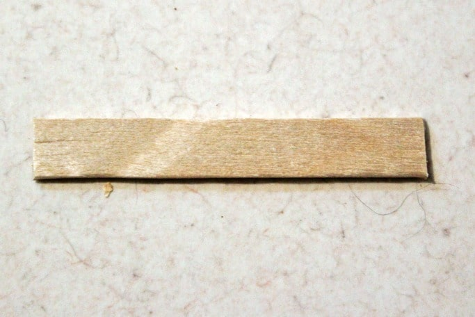 popsicle stick cut