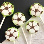 Soccer Oreo Pops - Fun Team Snack for the Soccer Team
