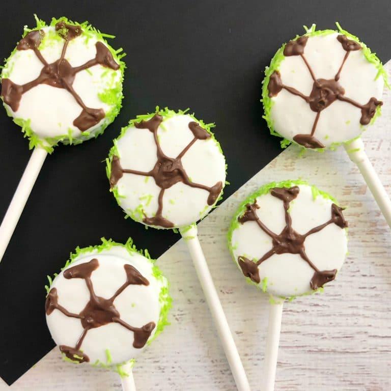 Soccer Oreo Pops – Fun Team Snack for the Soccer Team