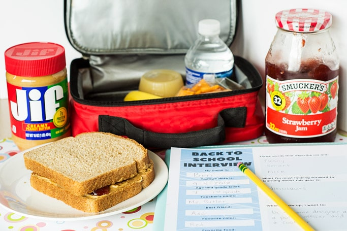 PB&J sandwiches are a classic school lunch