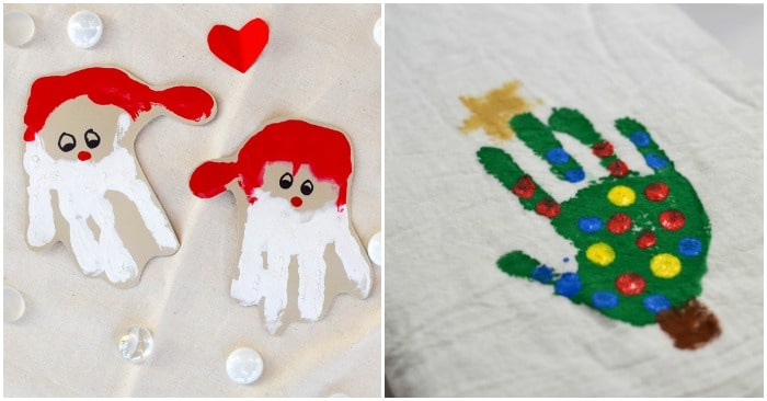 19 Handprint Christmas Crafts To Create Memories With Your Kids