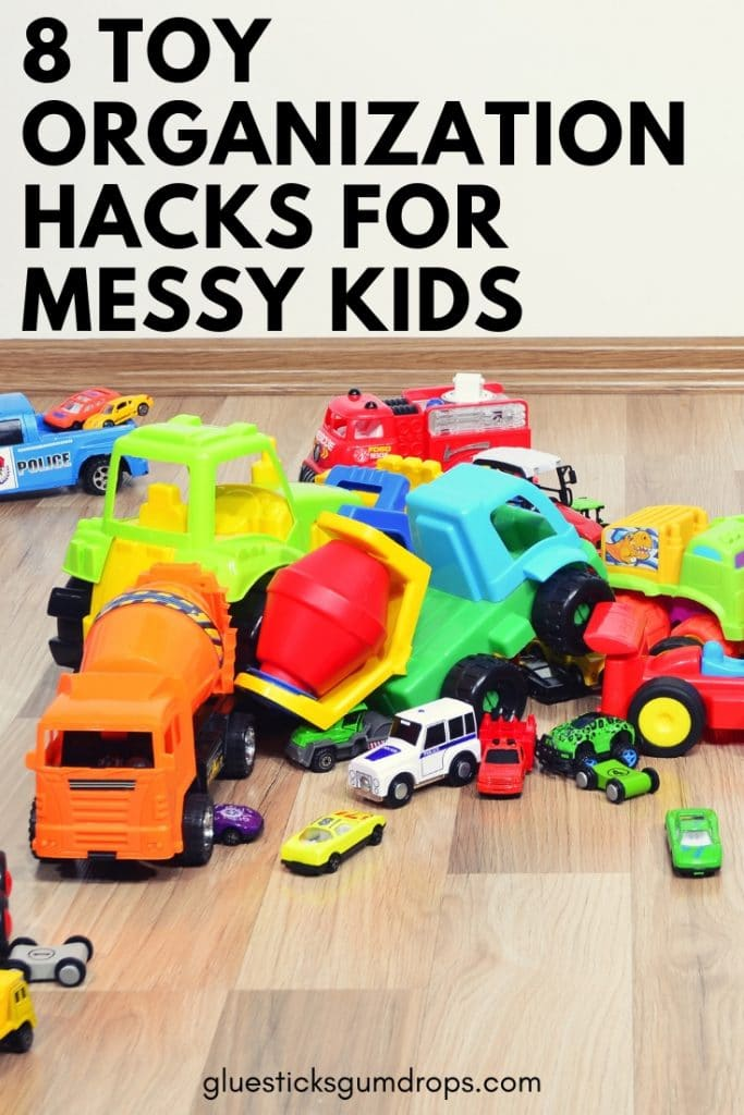 8 Toy Organization Hacks for Messy Kids - easy tips you can implement today!