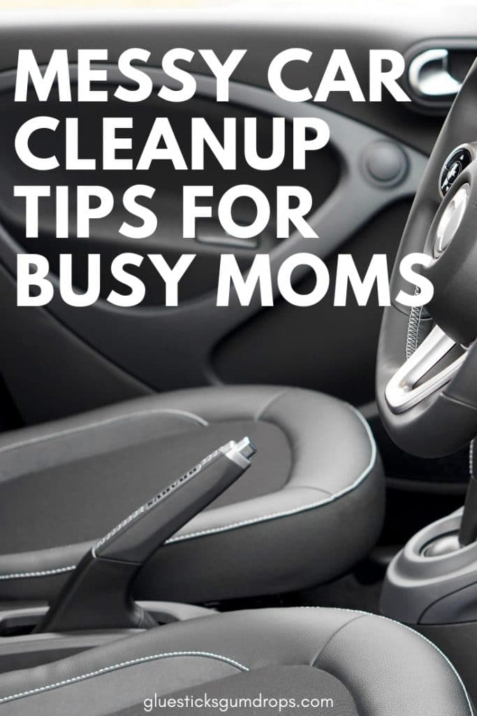 If your car looks you've been living in it, use these messy car cleanup tips to get it ship-shape in no time.