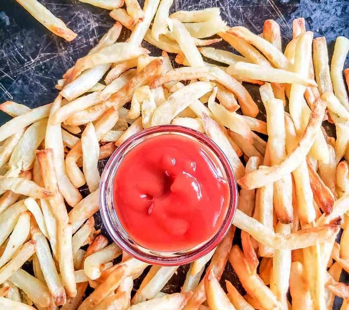 crispy low fat fries