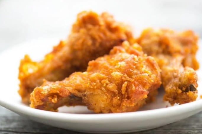 flourless fried chicken