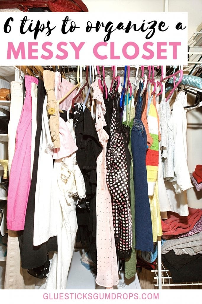 6 Tips to Declutter a Messy Closet Once and For All