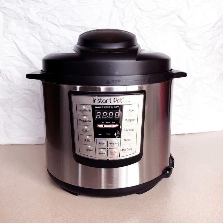 how to clean the instant pot