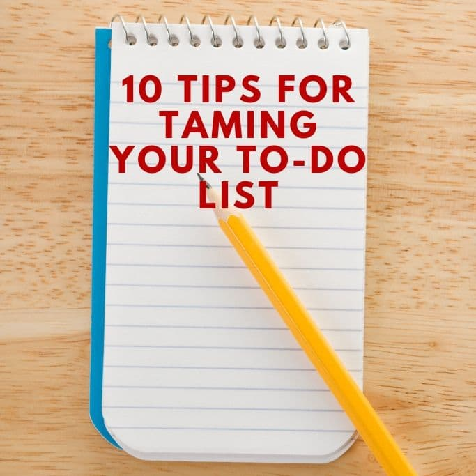how to make your to-do list more manageable