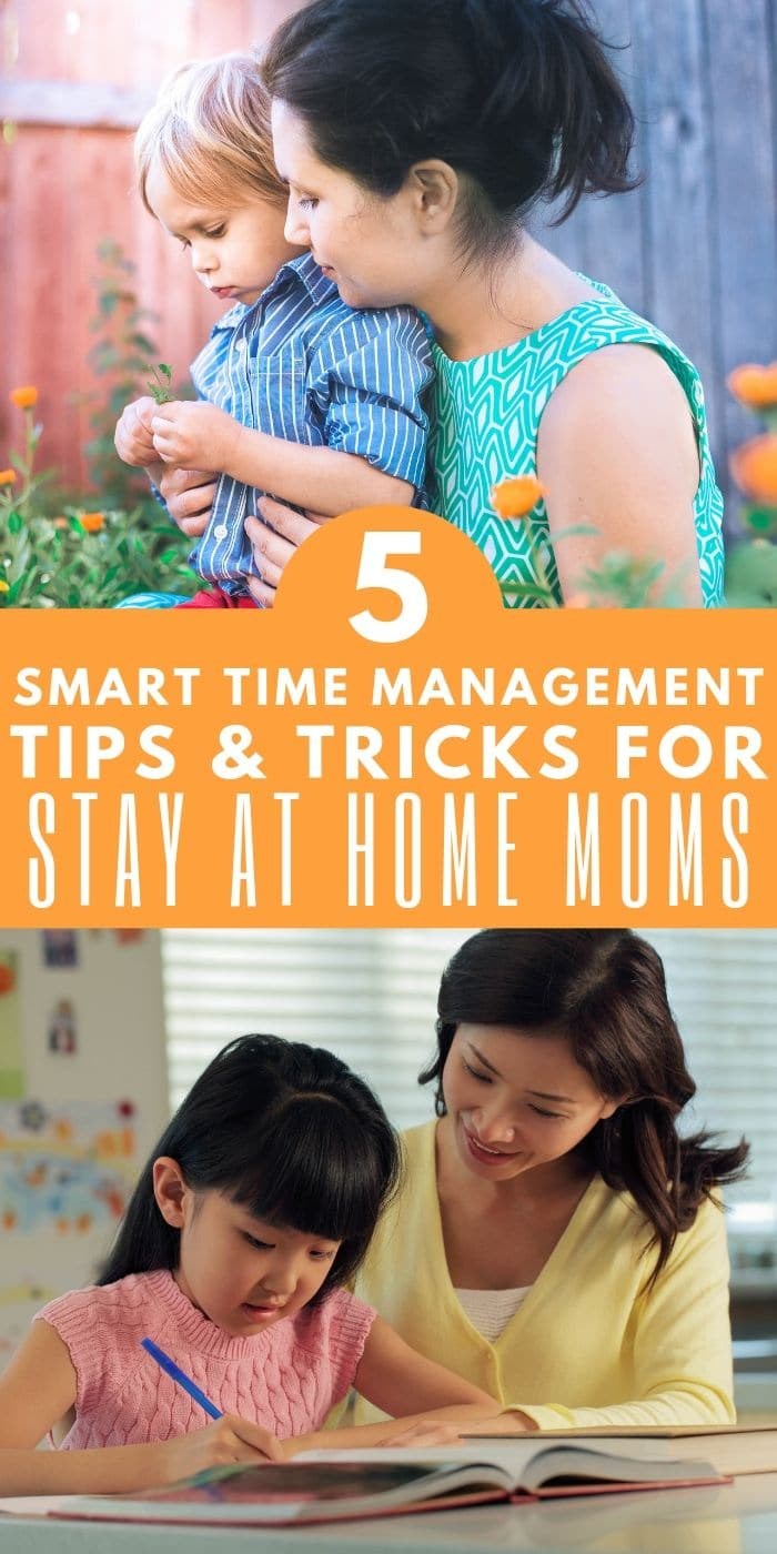 5 Smart Time Management Tricks for Moms