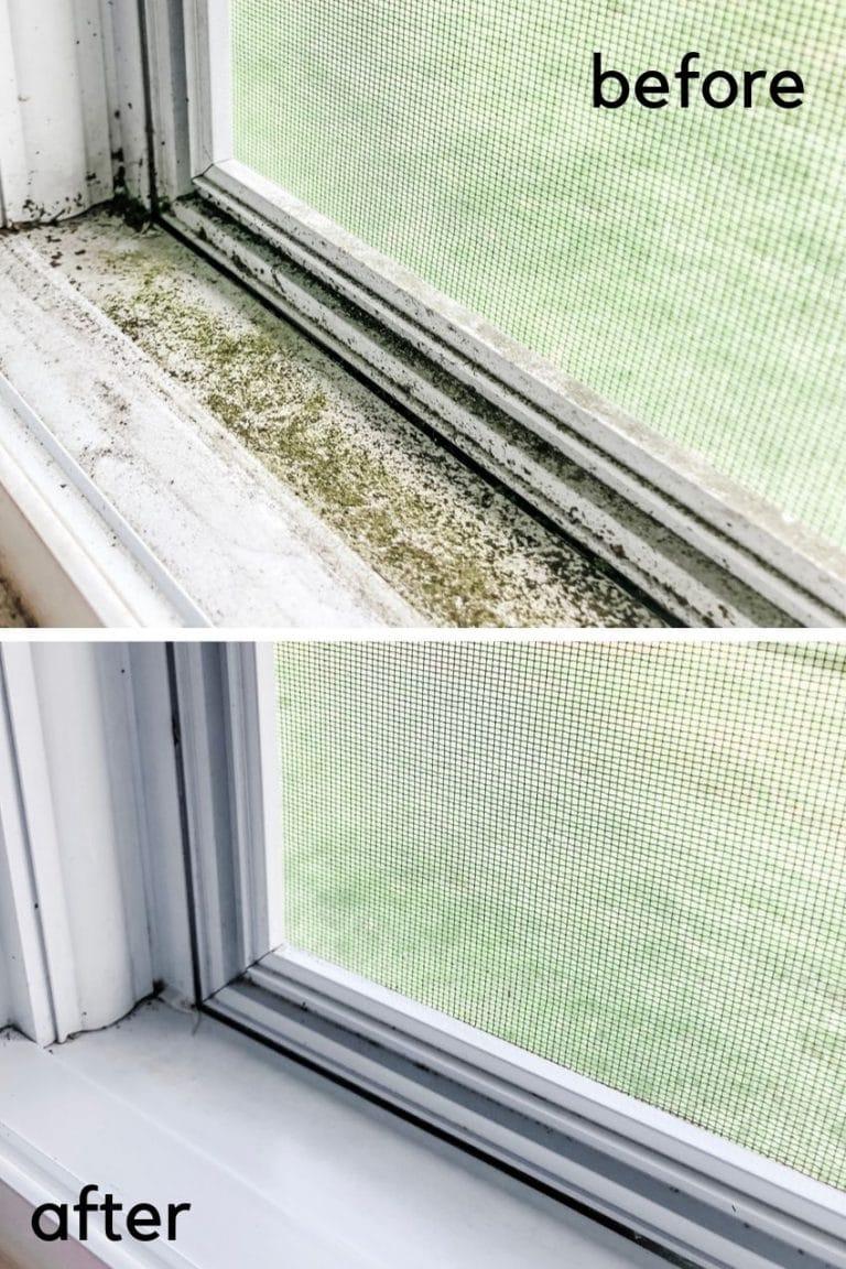 Best Ways to Clean Window Tracks