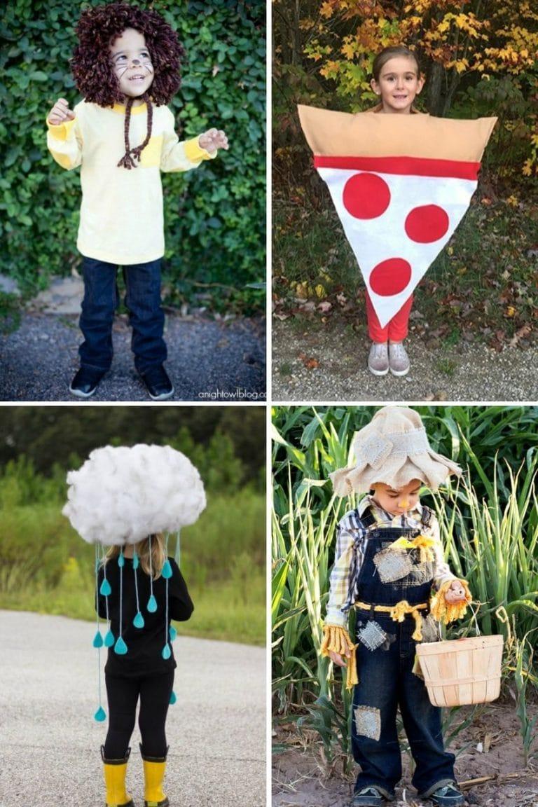 13 Easy DIY Halloween Costumes for Kids