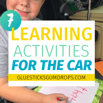 7 Carschooling Tips and Tricks for Busy Homeschool Moms
