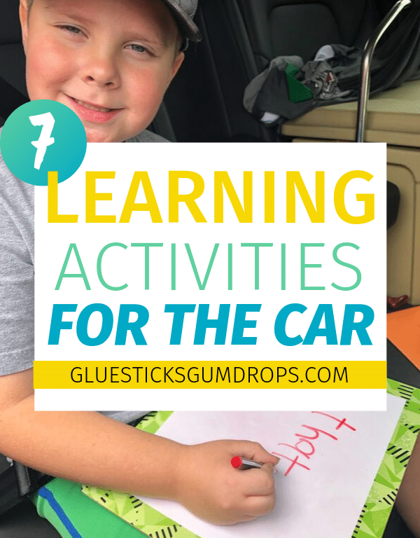 7 Learning Activities for the Car
