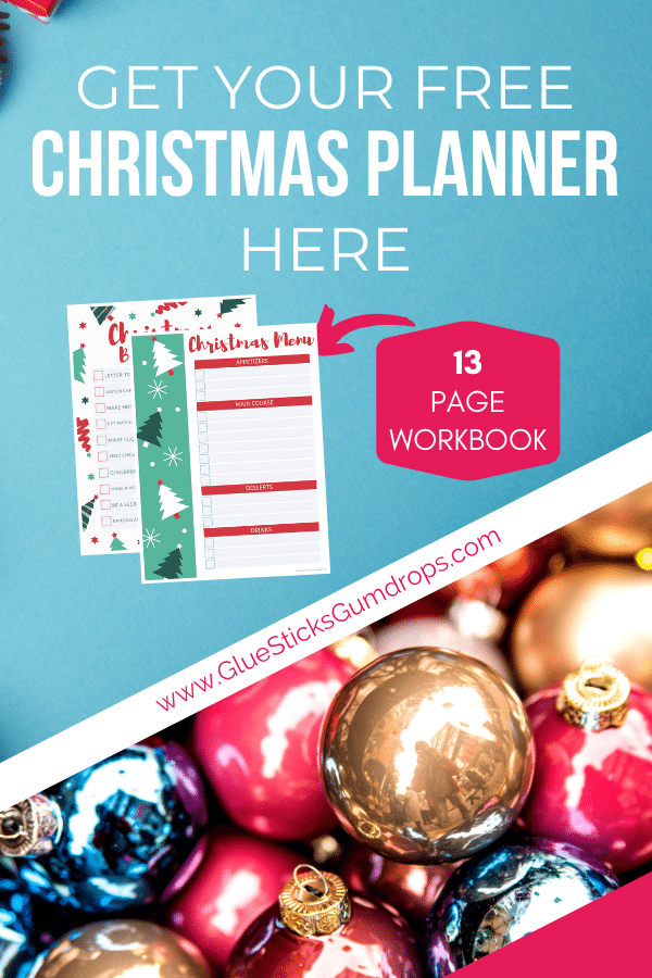 Get Your Free Printable Christmas Planning Workbook