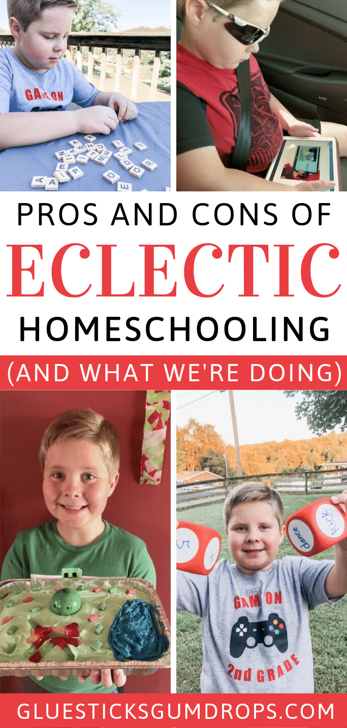 What are the pros and cons of eclectic homeschooling? What does it look like? Find out here!
