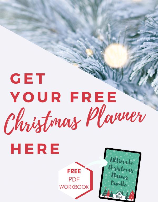 Ultimate Christmas Planner Bundle - Free Printable Workbook