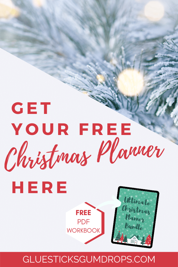 Ultimate Christmas Planner Bundle - Free Printable Workbook