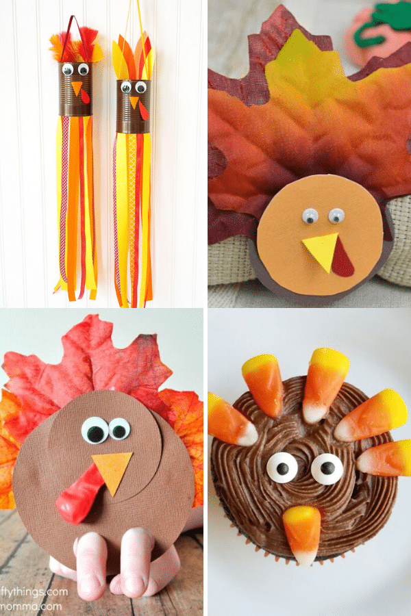 15 Easy and Fun Thanksgiving Kids Crafts and Activities