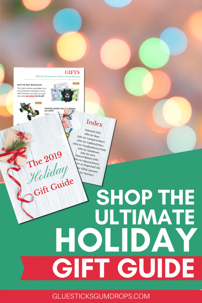 Collage image that reads Shop the Ultimate Gift Guide