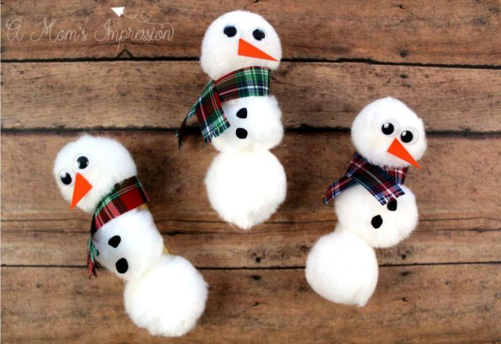 pom pom snowmen