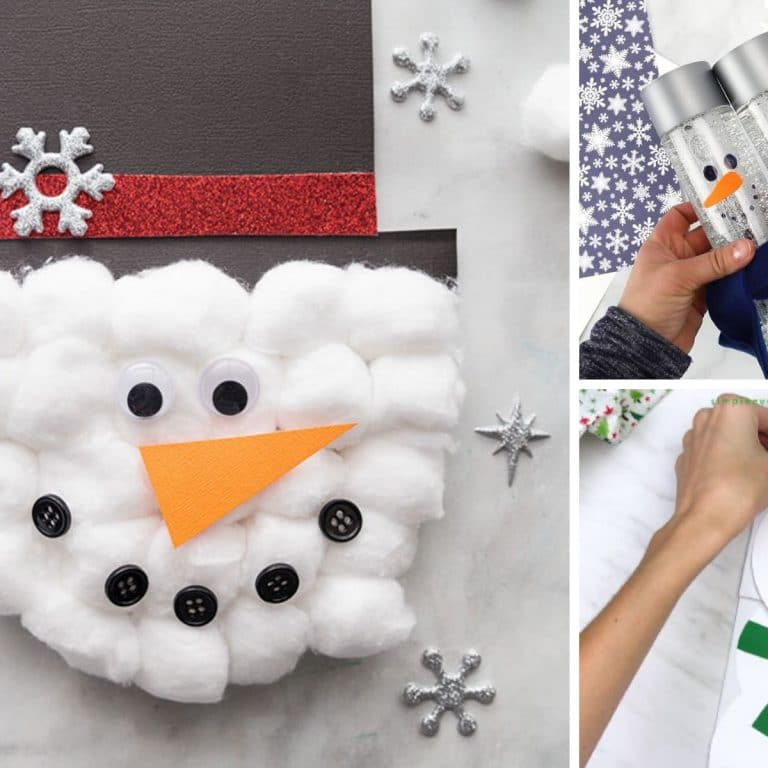 snowman crafts for grown ups feature 2