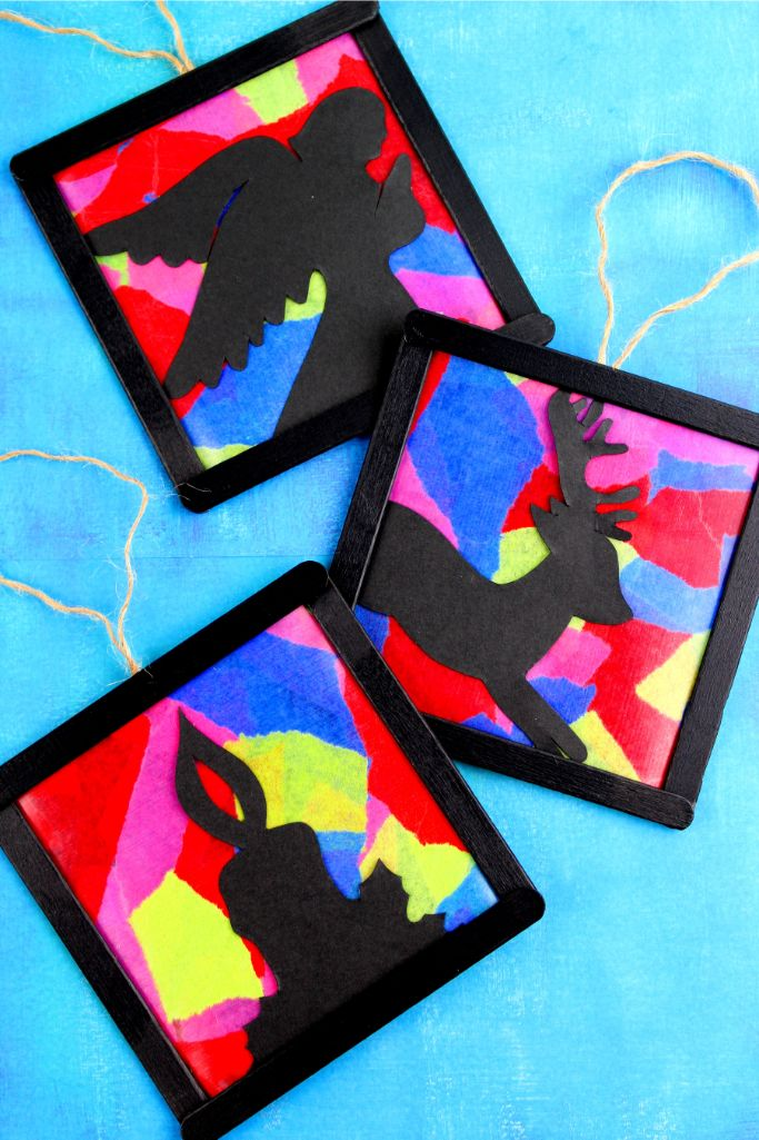 Beautiful Stained Glass Ornaments For Kids To Make