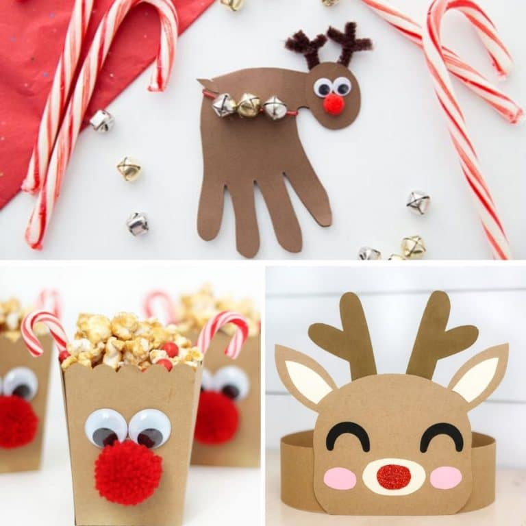 29 Ridiculously Cute Reindeer Crafts for Kids and Grownups