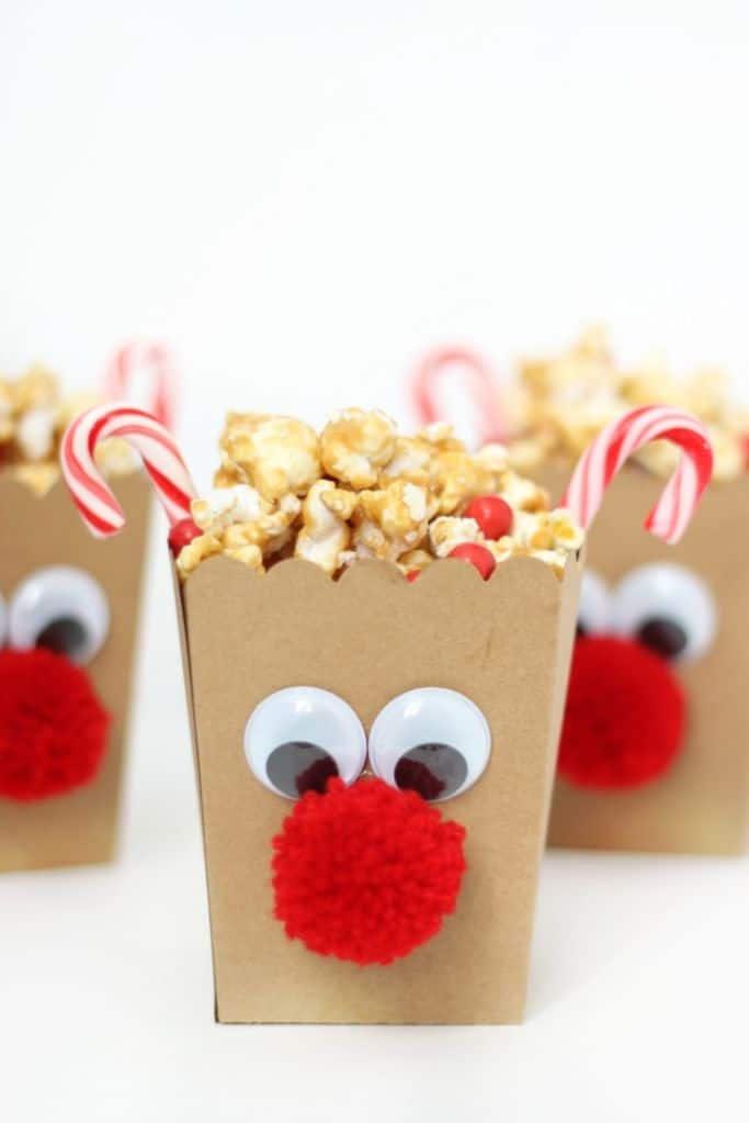 rudolph popcorn boxes
