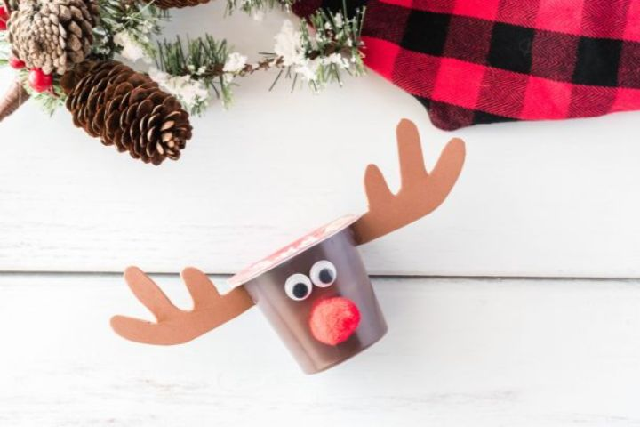 rudolph pudding cups