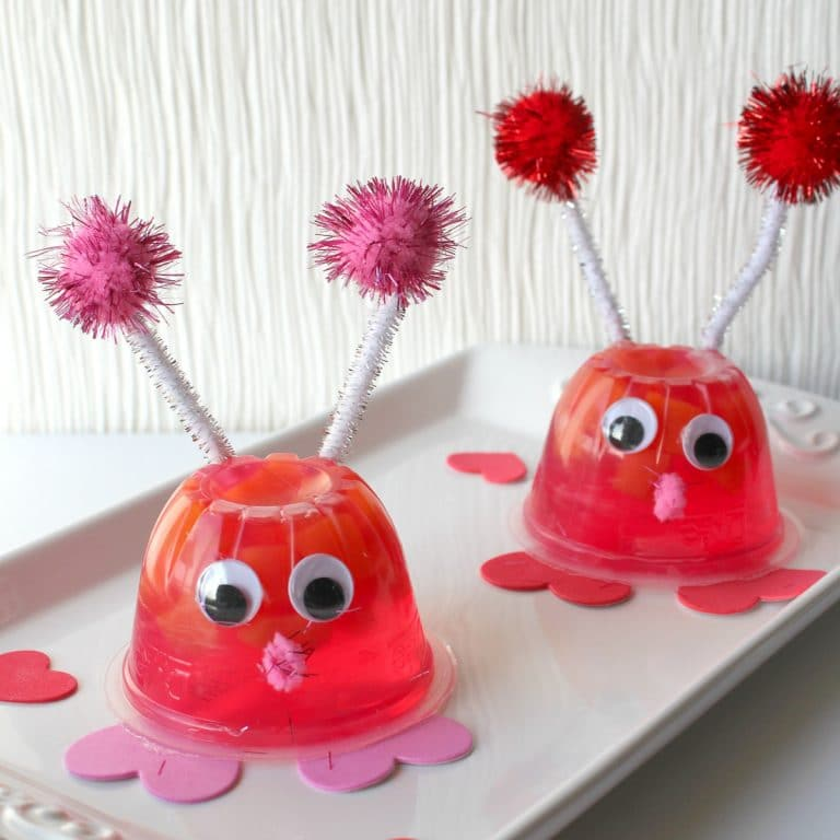 Love Bug Pre-Packaged Valentine's Day Snacks for Class Parties