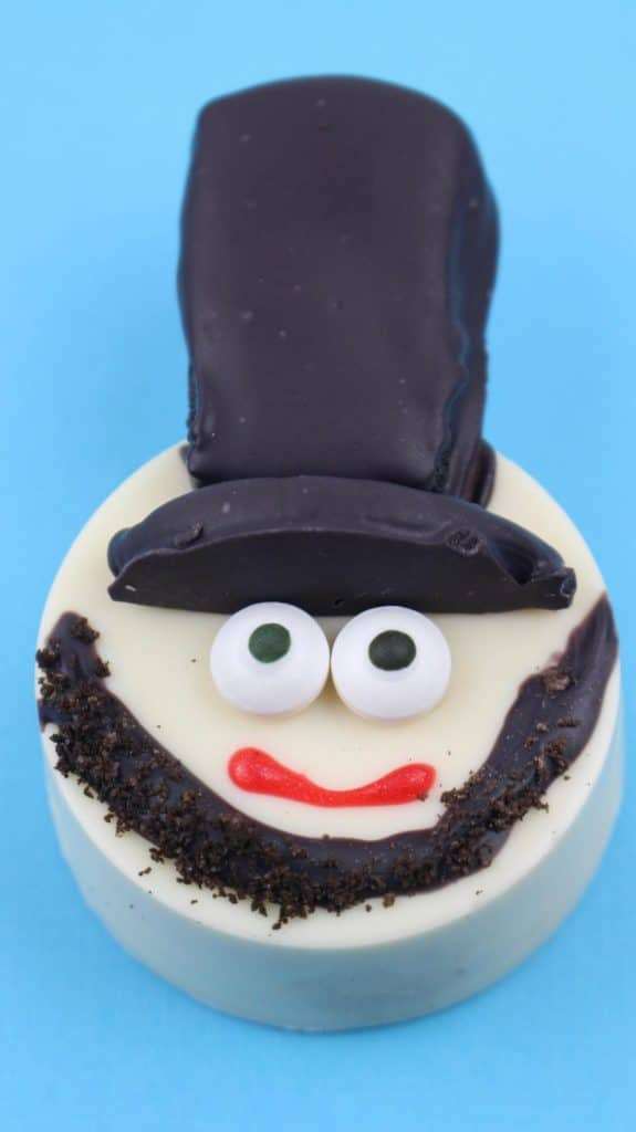 Abe Lincoln Oreo treat for kids