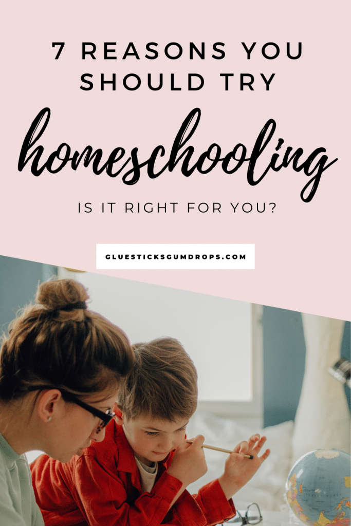 reasons you should try homeschooling