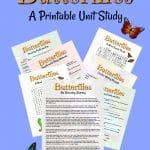 Butterfly Unit Study Pinterest Titled