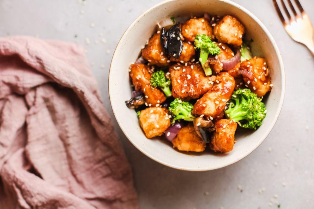 low carb orange chicken recipe