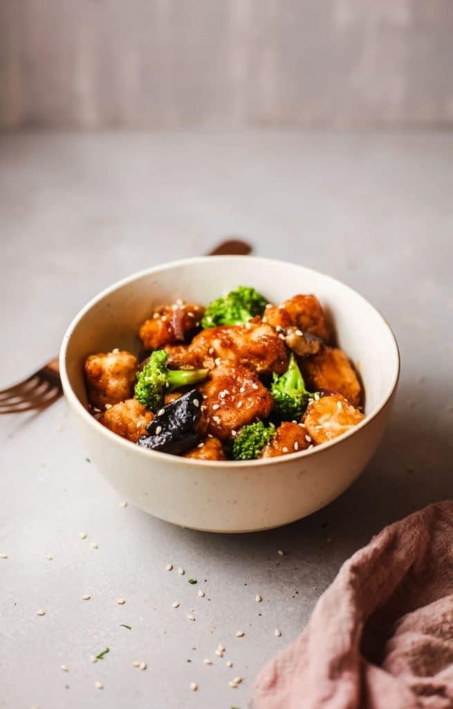 recipe for keto orange chicken