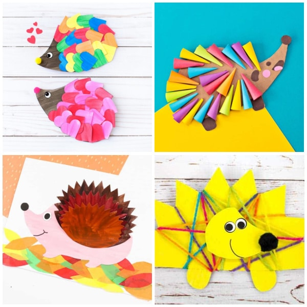 hedgehog crafts square