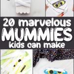 mummy crafts long pin