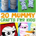 mummy crafts short pin