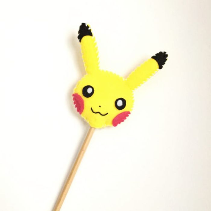 pikachu pencil toppers
